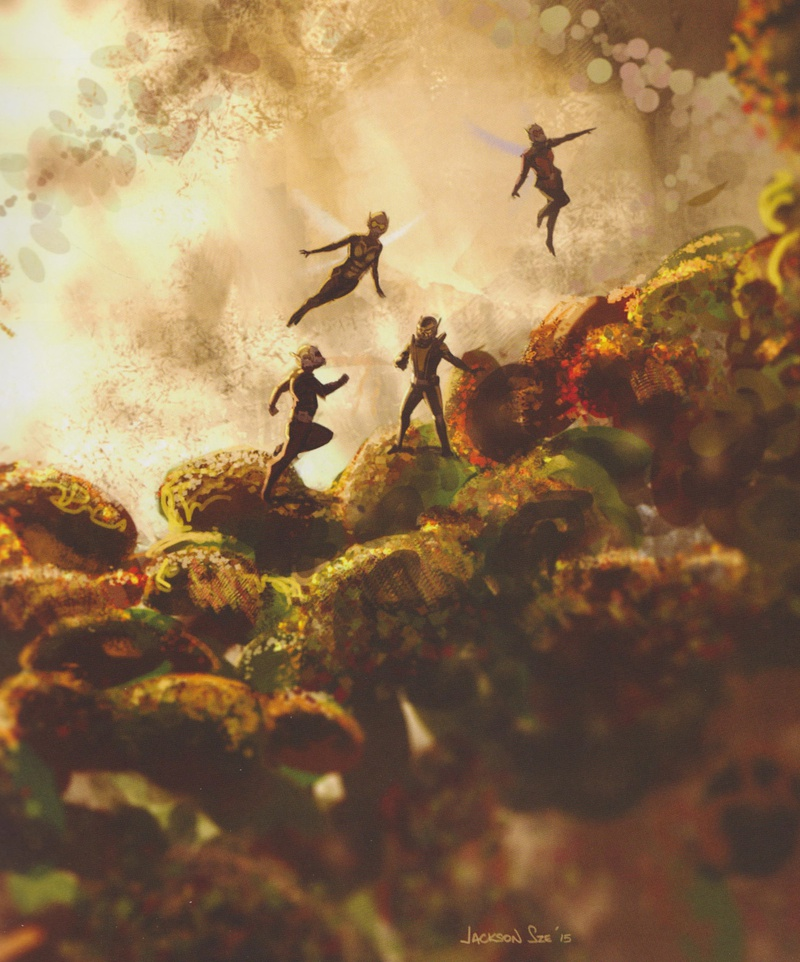 Quantum Realm Concept Art 2, Ant-Man and the Wasp