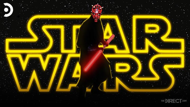 Star Wars logo, Darth Maul