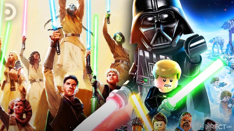 The High Republic Poster, Lego Skywalker Saga