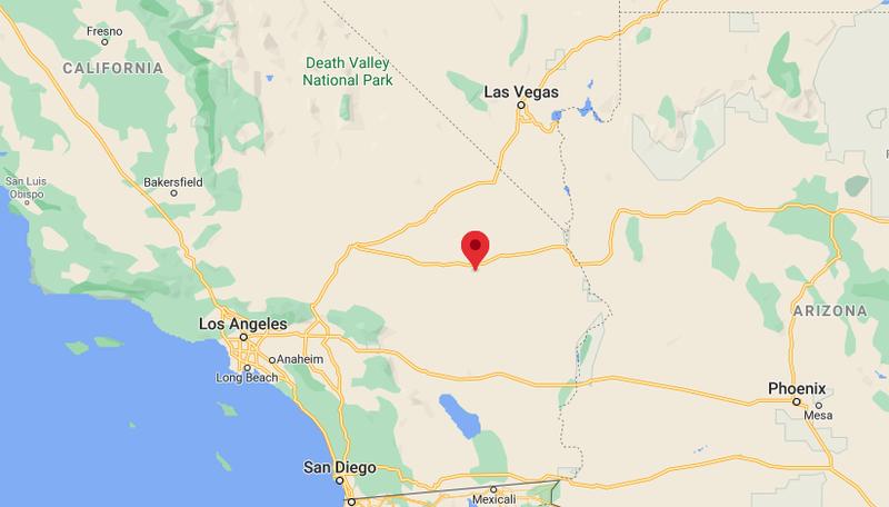 Mojave Desert Map