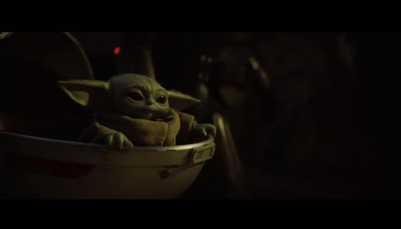 Baby Yoda in his pod from Season 2 TV Spot