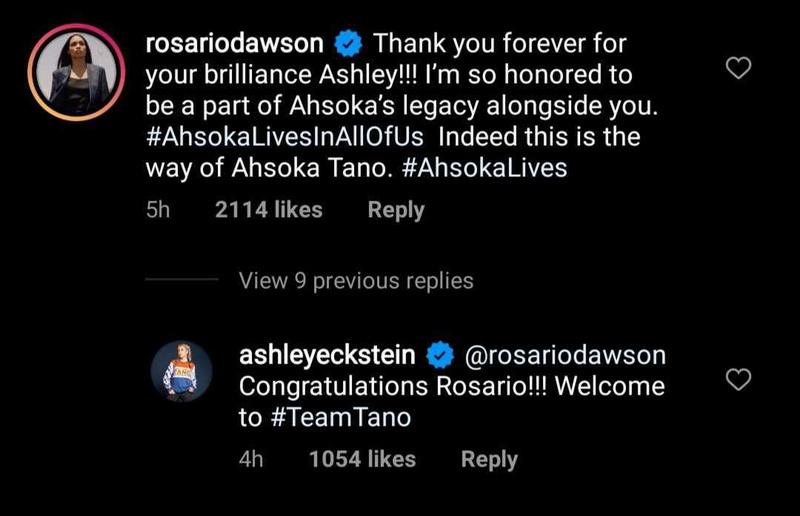Ashley and Rosario