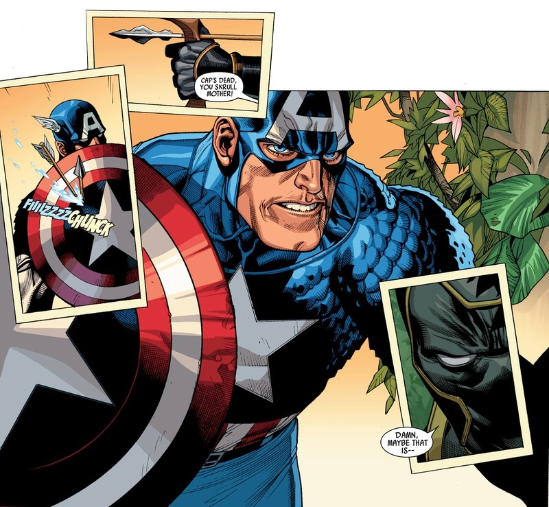 Secret Invasion Comic Captain America
