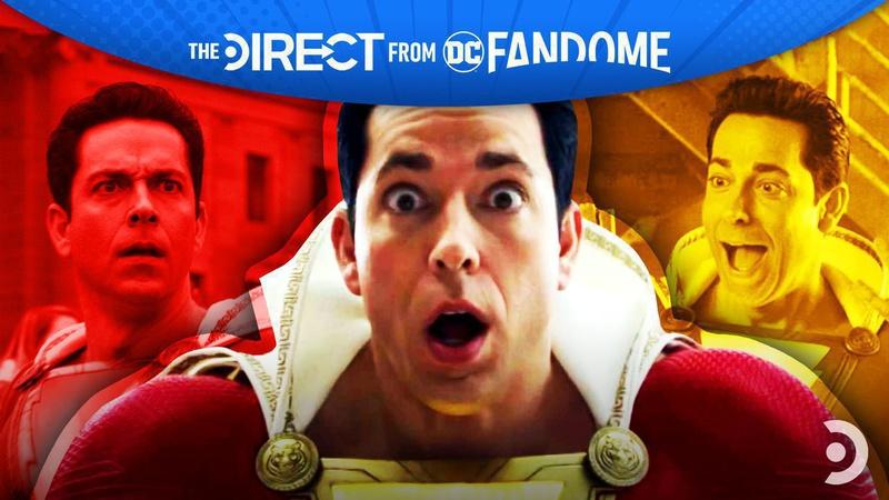 Shazam Zachary Levi DC FanDome
