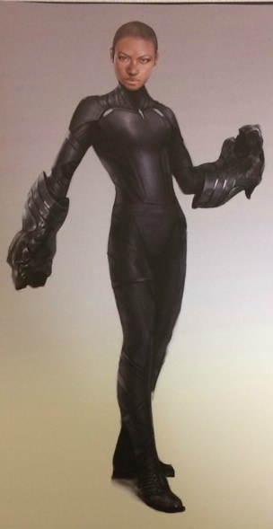 Shuri as the Black Panther Concept Art