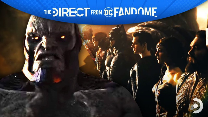 Justice League and Darkseid DC FanDome
