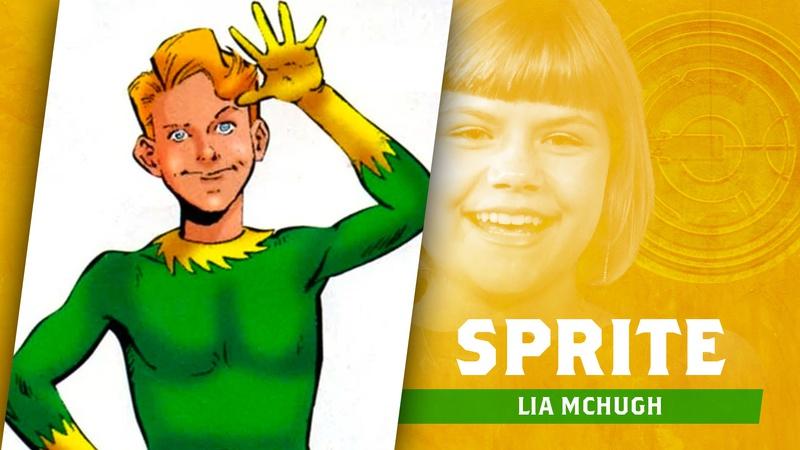 Lia McHugh, Sprite