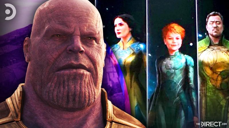 Thanos, Eternals Concept Art