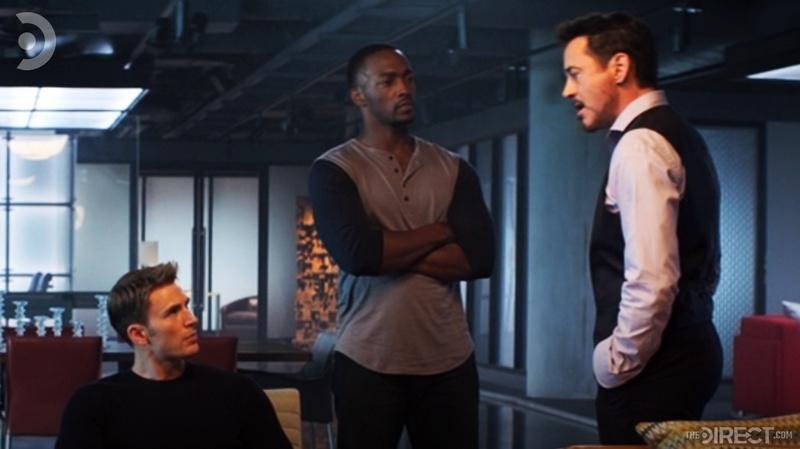 Tony Stark in Captain America: Civil War
