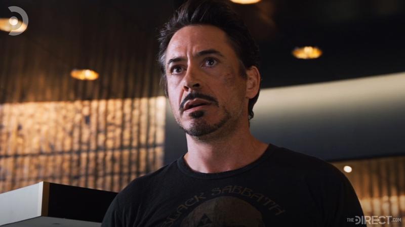 Tony Stark in The Avengers