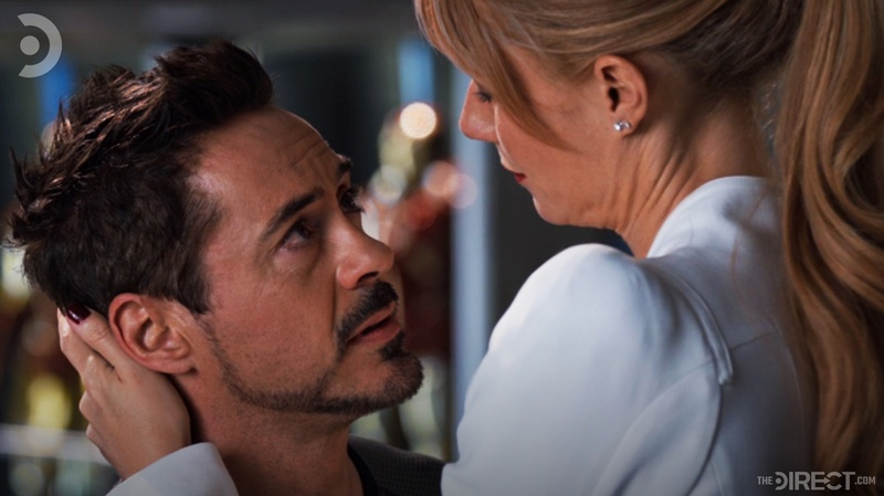 Tony Stark and Pepper Potts in Iron Man 3