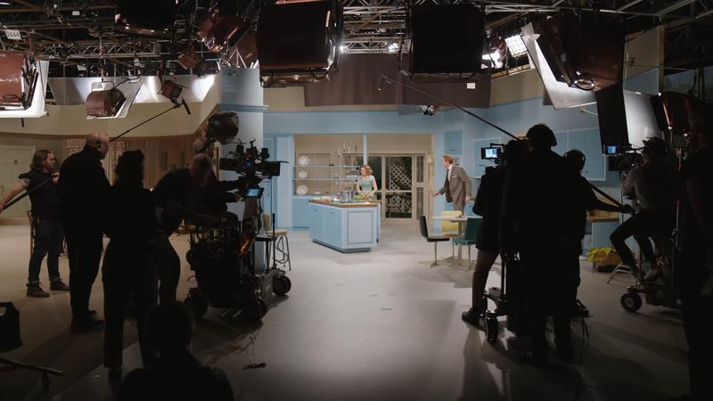 WandaVision behind the scenes