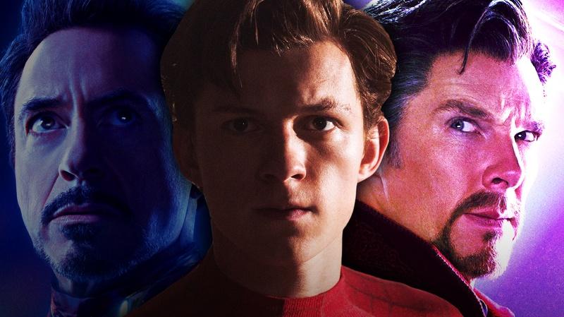 Tony Stark, Peter Parker, Doctor Strange