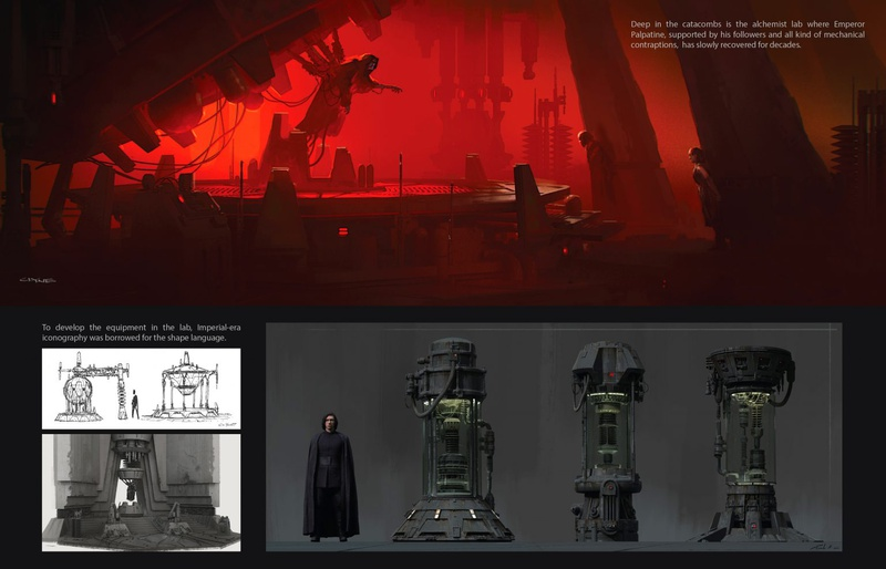 Palpatine Concept Art from Episode IX