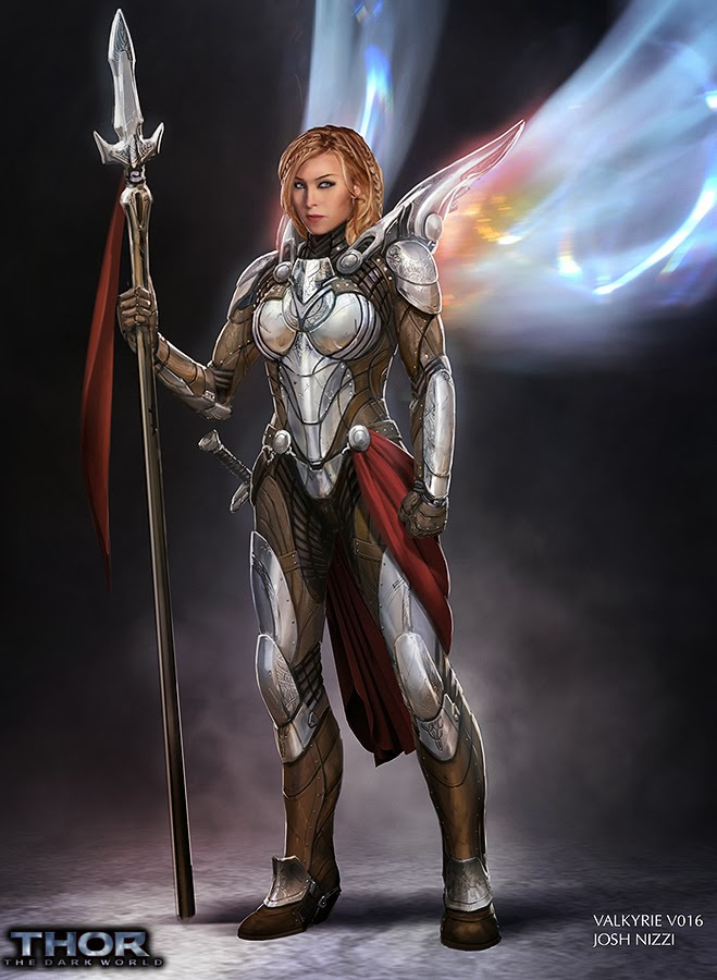 Valkyrie concept art 1 from Thor: The Dark World