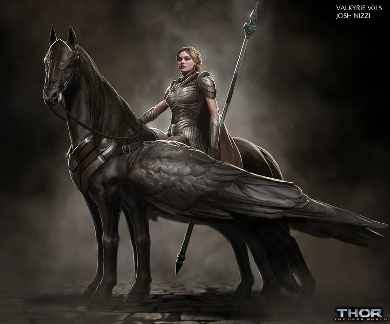 Valkyrie concept art 2 from Thor: The Dark World