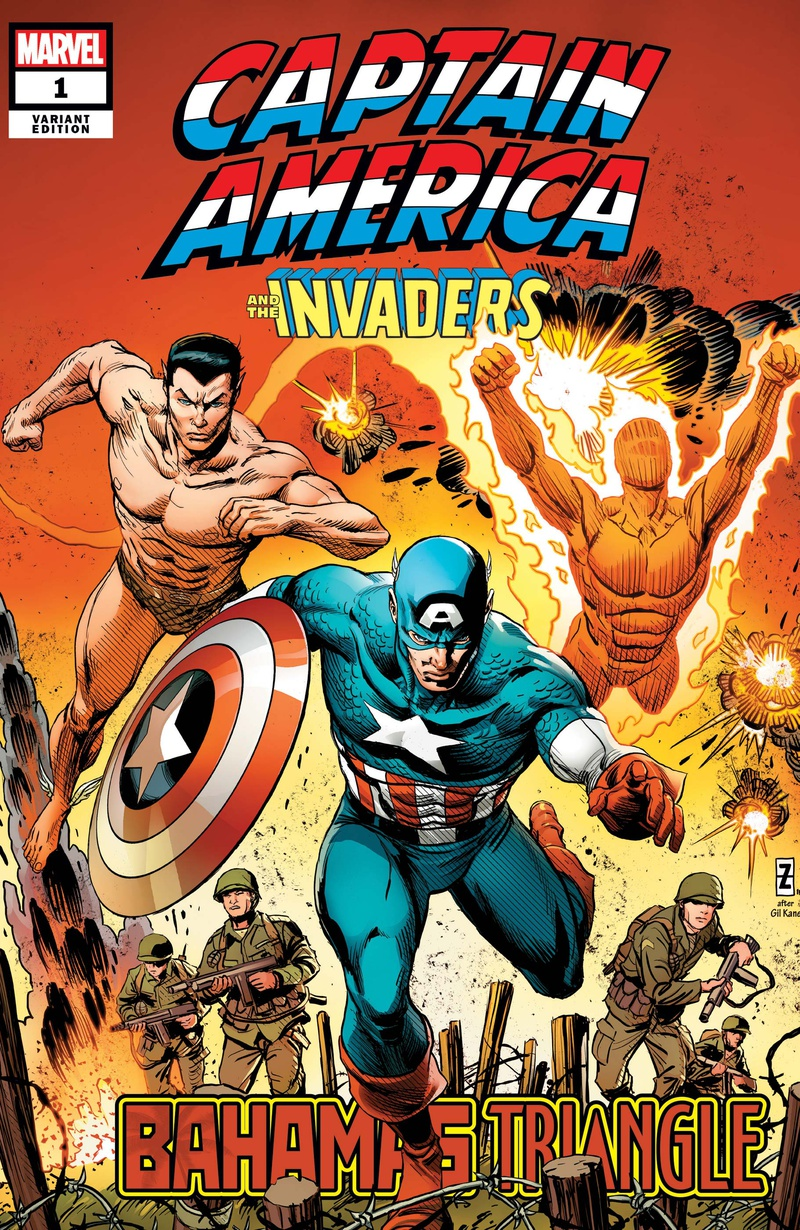 Captain America The Invaders