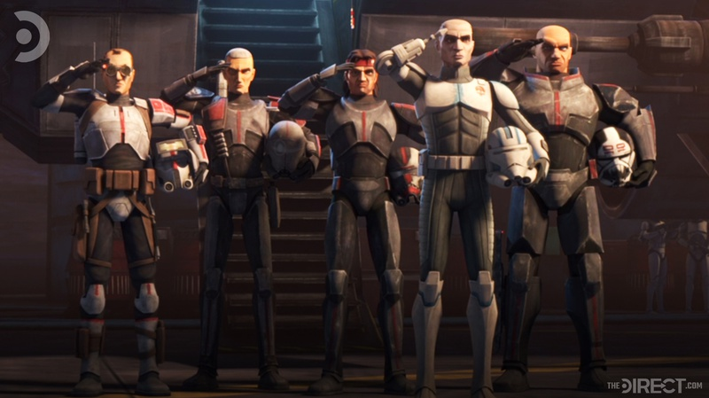 The Bad Batch in The Clone Wars