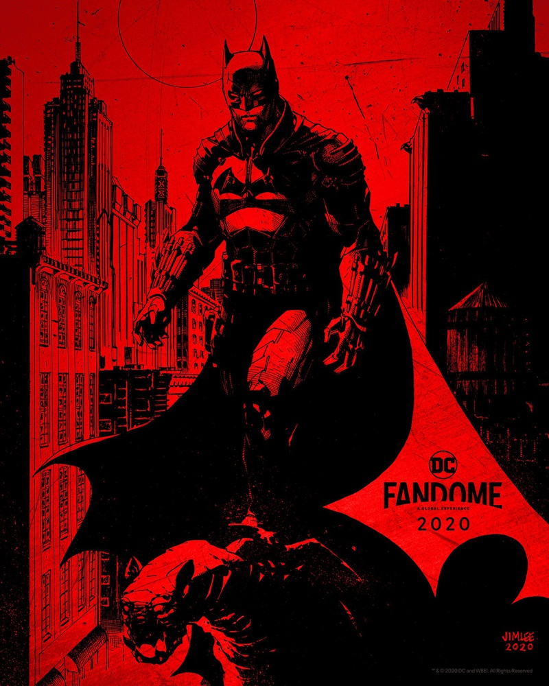 The Batman Official Poster by DC's Jim Lee