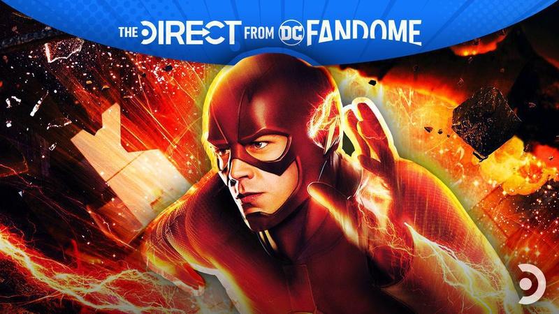 The Flash Grant Gustin DC FanDome