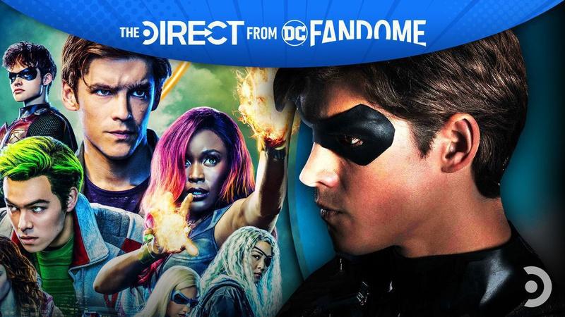 Titans DC FanDome