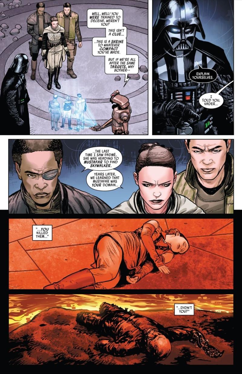 Sabe, Tonra, Typho, Darth Vader (2020)