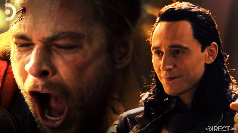 Thor and Loki from Thor: The Dark World