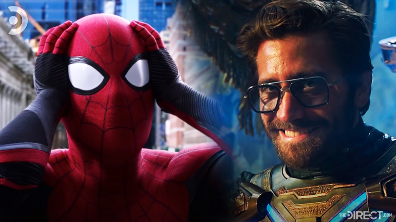 Spider-Man and Mysterio from Far From Home
