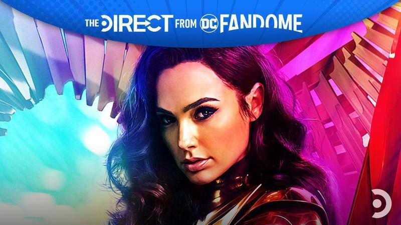 Gal Gadot as Wonder Woman DC FanDome