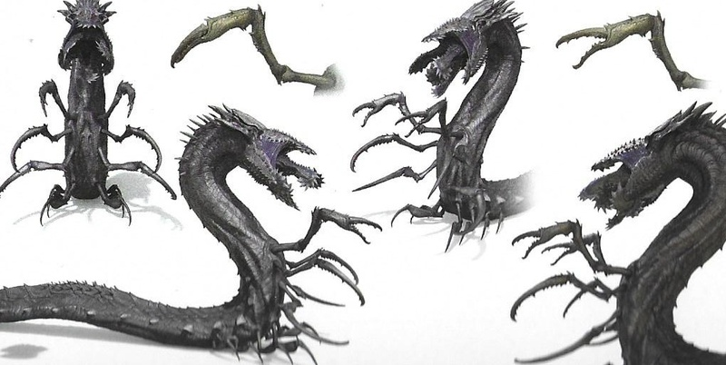 World Serpent Concept Art