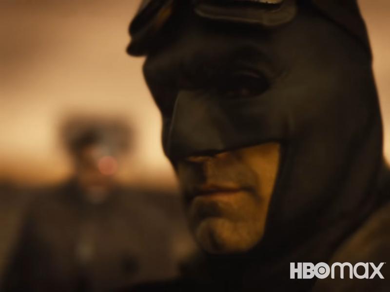 Snyder Cut Batman and Cyborg