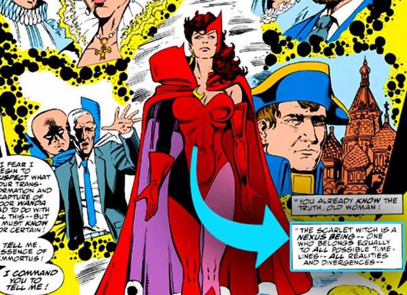 Scarlet Witch Nexus comic