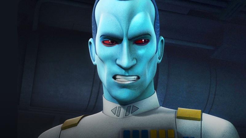 Thrawn in Star Wars Rebels