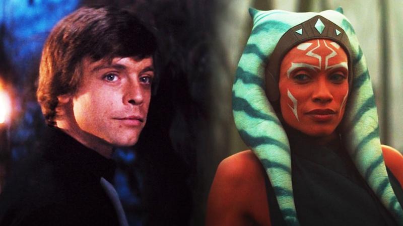 Luke Skywalker and Ahsoka Tano