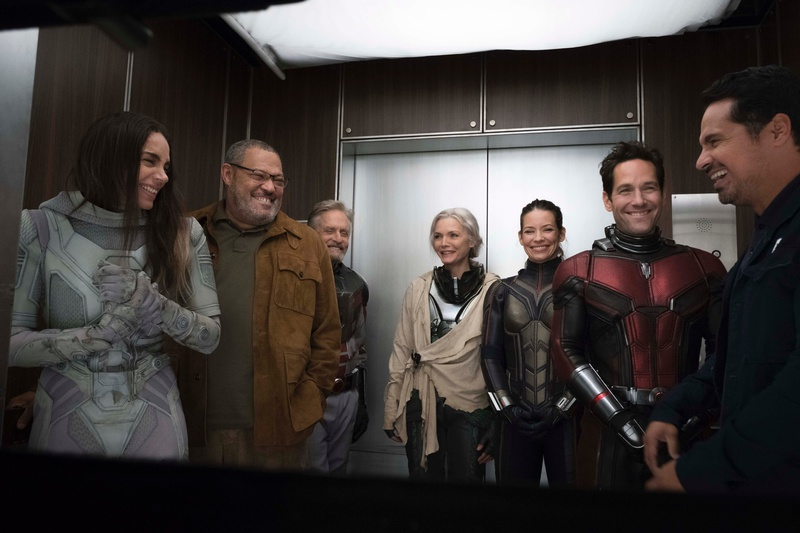 Ant-Man and the Wasp main cast