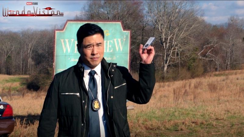 WandaVision Jimmy Woo trick