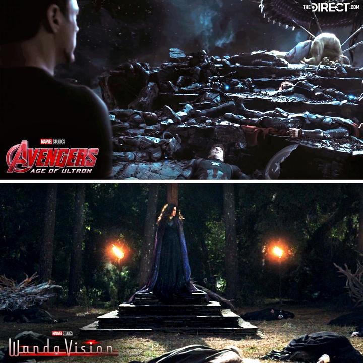 WandaVision, Avengers: Age of Ultron, Tony Stark, Agatha Harkness