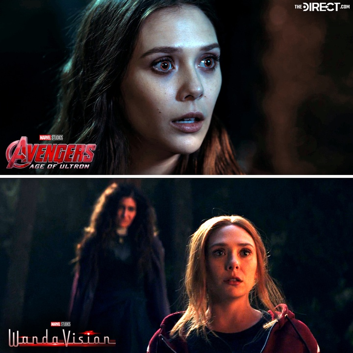WandaVision, Avengers: Age of Ultron, Wanda Maximoff, the Scarlet Witch