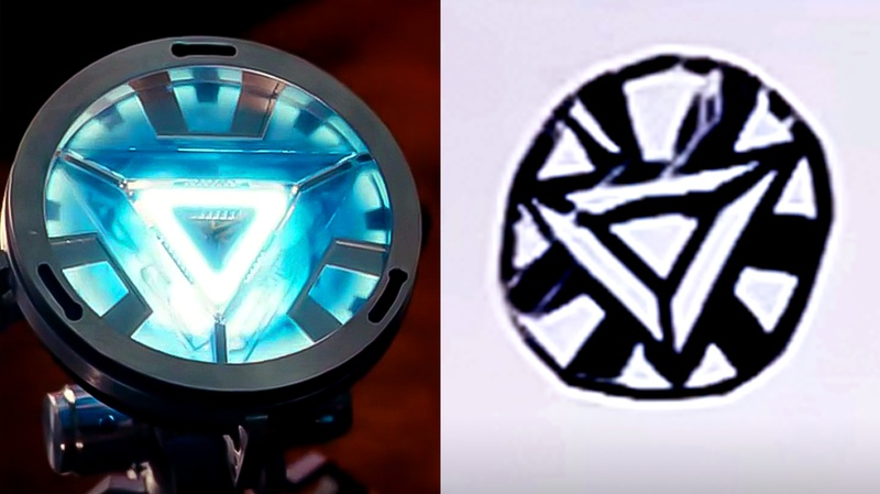 Arc Reactor Iron Man