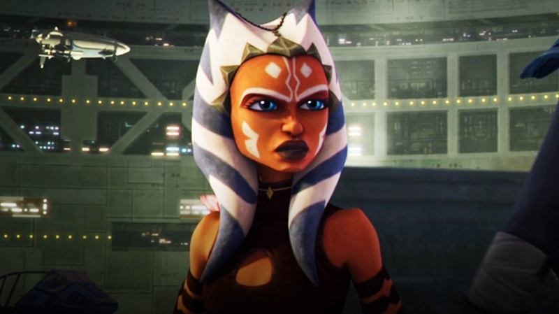 Ahsoka in Star Wars: The Clone Wars (Season 5)