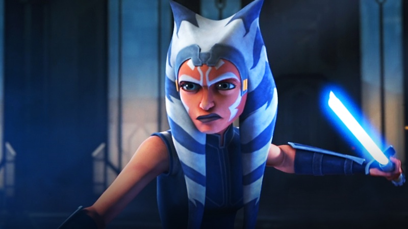 Ahsoka in Star Wars: The Clone Wars (Season 7)