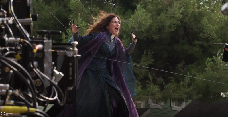 WandaVision Behind the Scenes Kathryn Hahn Agatha