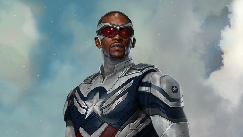 Sam Wilson Captain America Concept Art