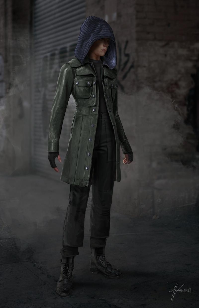 Sharon Carter costume concept art