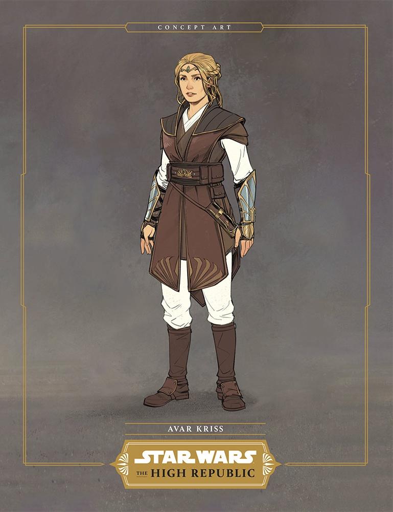 Avar Kriss in Star Wars: The High Republic