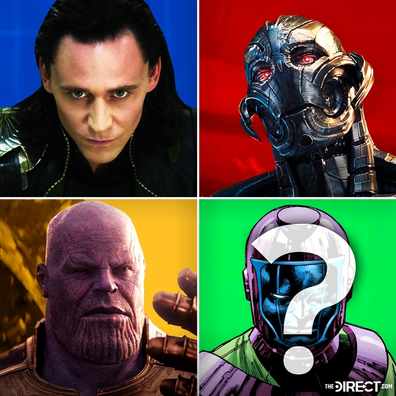 Loki, Ultron, Thanos, Kang