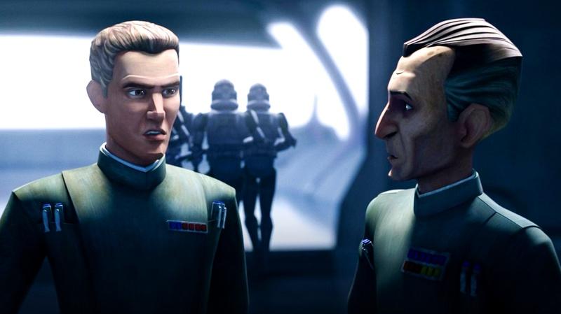 Star Wars Bad Batch Tarkin