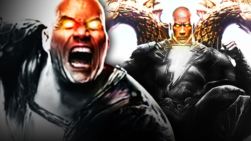 Black Adam, The Rock