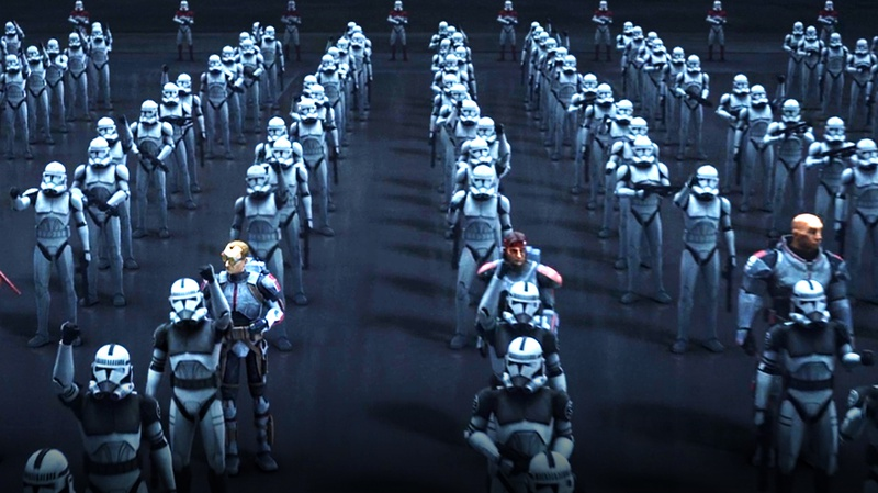 The Bad Batch clone troopers
