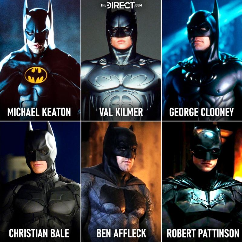 Batsuits live-action